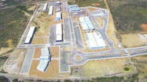 Foto aérea Campus Caraúbas